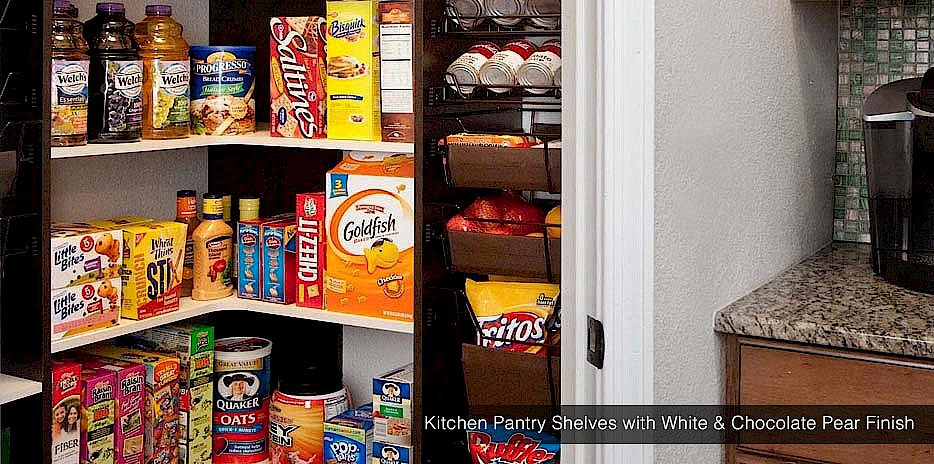 Our Custom Kitchen Shelves Are Perfect For Stashing Quick Snacks And Favorite Healthy Treats